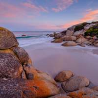 Stunning light at the Bay of Fires