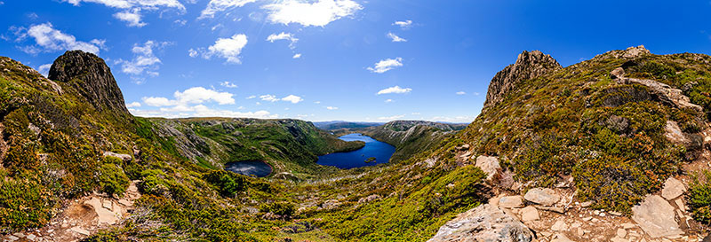360 panorama of Cradle Mountain - Face Track 2