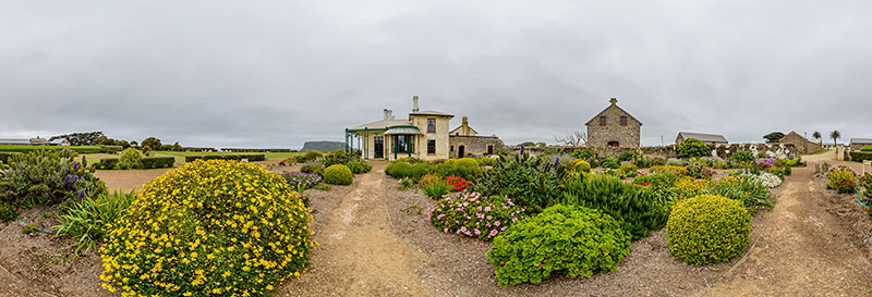 360 panorama of Highfield House in Stanley